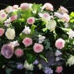 smuteční květinové dary